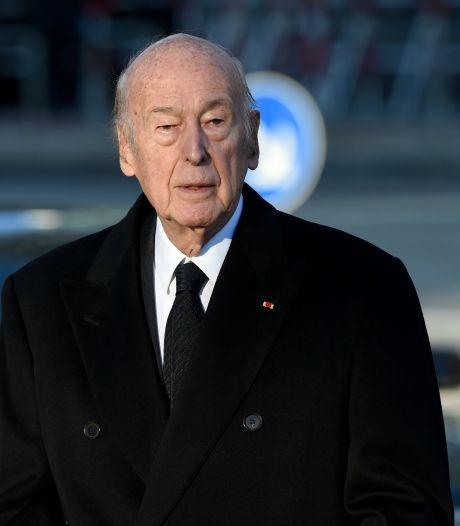 L'ex-président français Valéry Giscard d'Estaing est sorti de l'hôpital