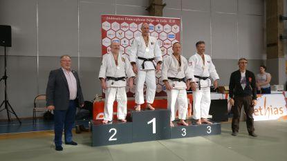 Hoofdtrainer judoclub Belgisch kampioen bij Masters -90 kilogram