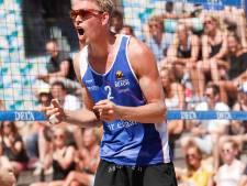 Winst voor Bornse beachvolleyballer Boermans in Groningen