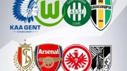 Standard treft Arsenal en Eintracht Frankfurt in Europa League, Gent ontmoet Wolfsburg en Saint-Étienne