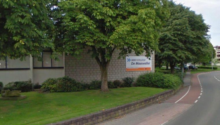 College de Maasvallei in Boxmeer Beeld Google Streetview