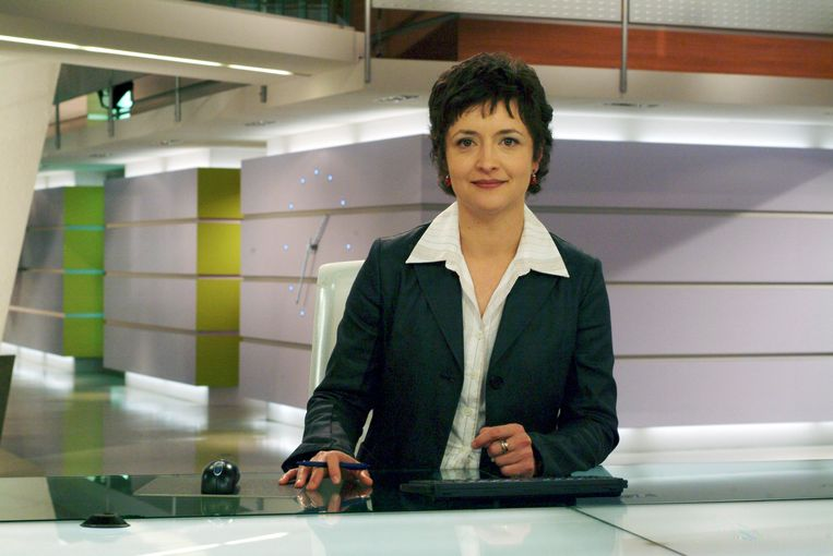 Sigrid Spruyt als journaalanker