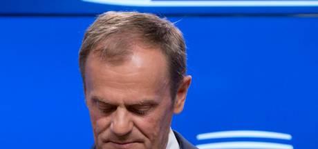 Tusk: 'Dit is geen gelukkige dag'