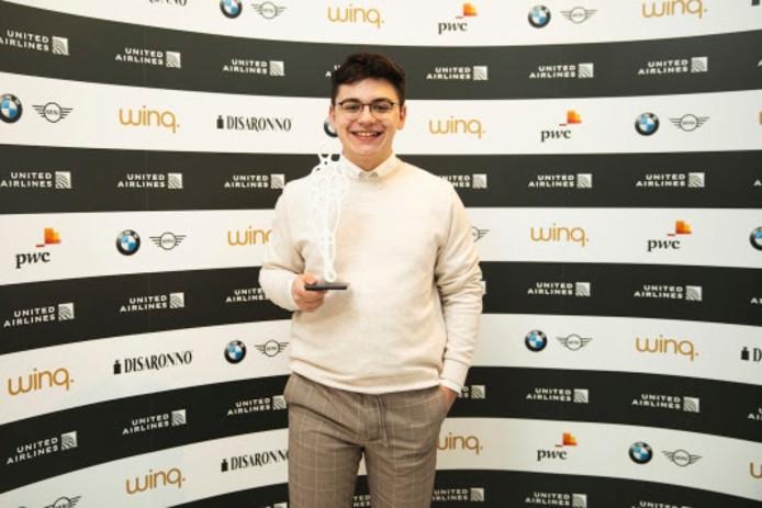 Emre Hoogduijn won donderdagavond de Youth Diversity Award.