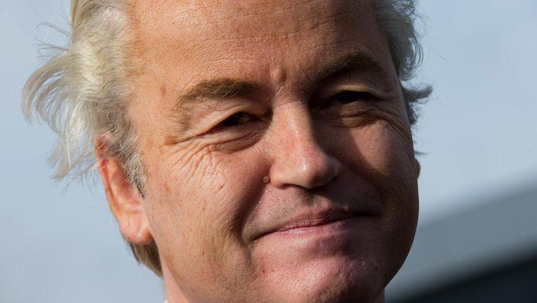 Geert Wilders gaat niet meer naar het dierenasiel in Zaandam. Beeld ap