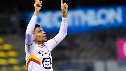 Igor De Camargo maakt er met twee goals in Union tweestrijd tussen KV Mechelen en Beerschot-Wilrijk van