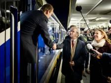Nieuwe Sprinter feestje voor passagier en machinist