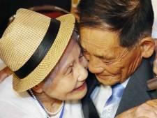 Tranen bij Koreaan Sang Chol (72)  als hij zijn moeder ziet na 68 jaar
