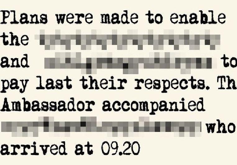 Een gedeelte uit het logboek