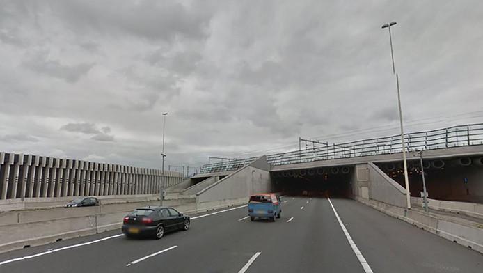 De Leidsche Rijntunnel.
