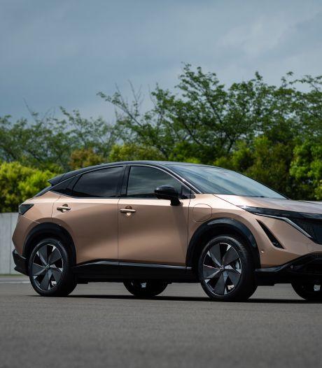 Volledig elektrische SUV-coupé van Nissan heet Ariya en komt 500 kilometer ver