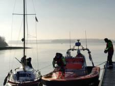 Zeilbootje gered op Veerse Meer vanwege ongunstige wind