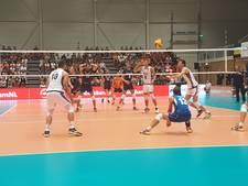 Oefennederlaag voor volleyballers Nederlands team