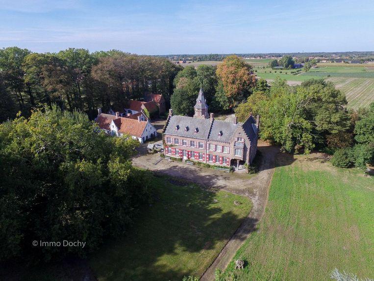 Het kasteel Lantonnois van Rode.