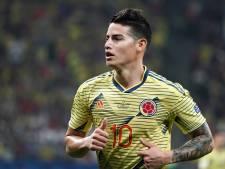Mogelijk zware blessure James na training bij Colombiaans elftal