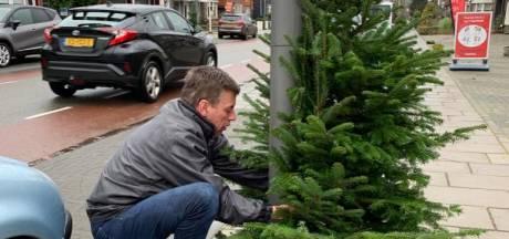 Overdinkel geteisterd door kerstboomvandalen: 'Dit is belachelijk'