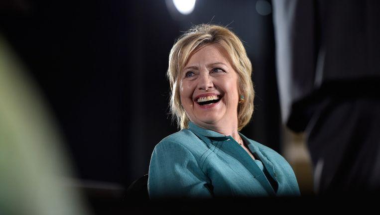 Presidentskandidaat Hillary Clinton. Beeld AFP