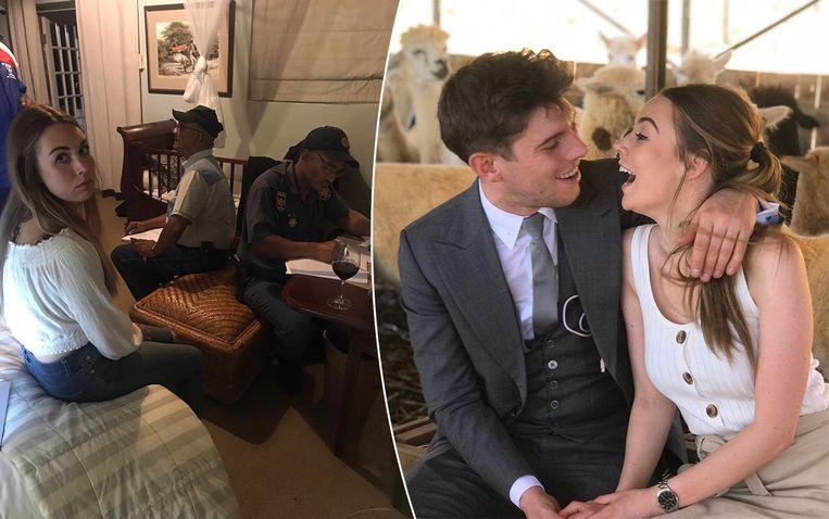 Tommaso Bordoni en zijn vriendin Linsey de Waele zijn aan de dood ontsnapt bij een overval in Zuid-Afrika.