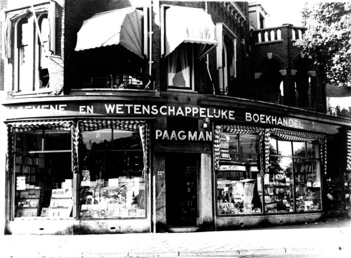 Boekhandel Paagman in 1951.