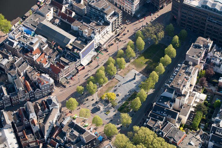 Het Rembrandtplein Beeld Hollandse Hoogte /  ANP
