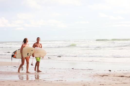 Santa Teresa in Costa Rioa is uitgegroeid tot een waar surfmekka.