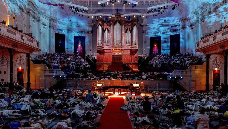 Het Concertgebouw: onmisbaar onderdeel van de culturele infrastructuur van de stad. Beeld EPA