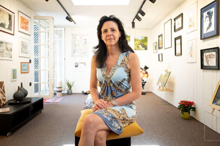 Anne Meylemans stelt in de zomervakantie werken van vier lokale kunstenaars tentoon in haar winkel Frann.