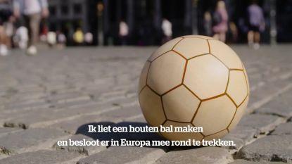 Van Ceulemans naar Messi: met Houten Bal op zoek naar 32 handtekeningen van vedetten WK voetbal