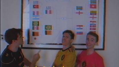 """""""It's not coming home!"""" De Belgische parodie op het lijflied van de Engelsen op dit WK"""