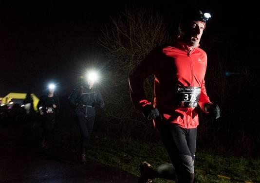 In februari dit jaar was er een Night Run bij de Nedereindseplas.