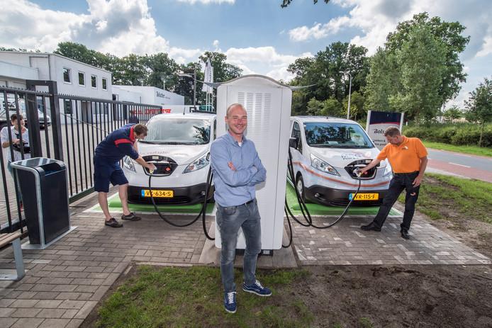 Auto Opladen In 20 Minuten Het Kan Nu In Enschede Enschede