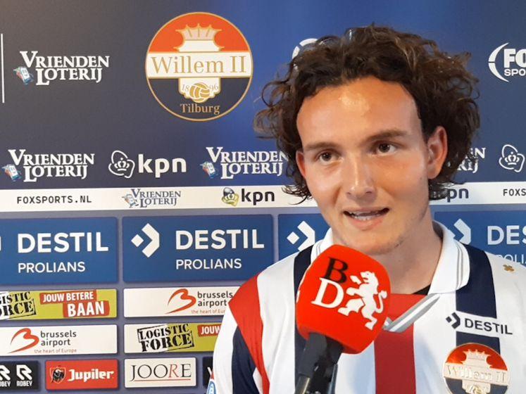 Ex-NAC Van den Avert maakt debuut bij Willem II: 'Dit smaakt naar meer'