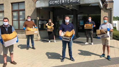 Glabbeek bezorgt elke inwoner  een mondmasker aan huis