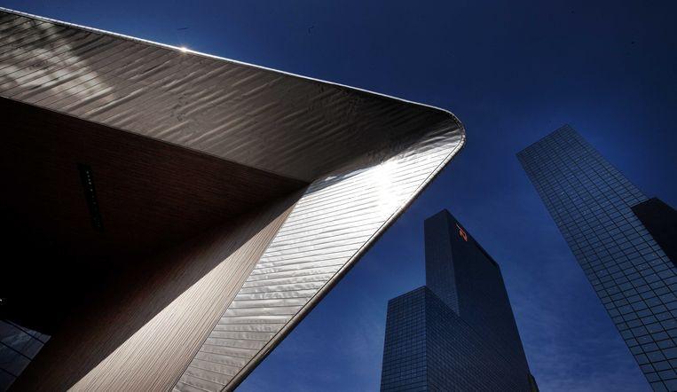 Het dak van het vernieuwde Rotterdam Centraal. Beeld anp