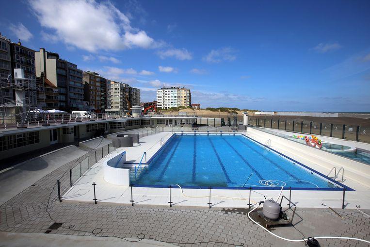 Oostduinkerke zwembad aan strand gerestaureerd: