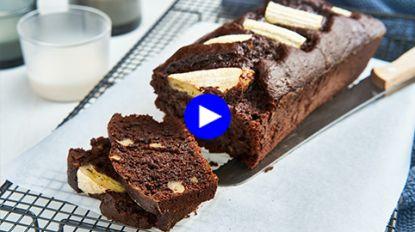 Met deze tip maak je de lekkerste chocolade-banaancake ooit (licht én smeuïg!)
