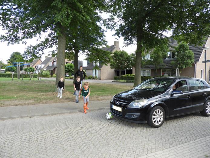 Maarten van Houtum probeert al drie jaar een heg te krijgen tussen het Mispelbos en de Oostelvoortjes in Moergestel.