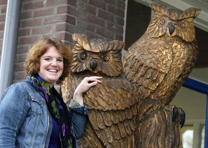 Marjolein Wassens is de nieuwe directeur van Helicon Apeldoorn. Ze staat voor een uitdaging de school flink te laten groeien. foto Cees Baars