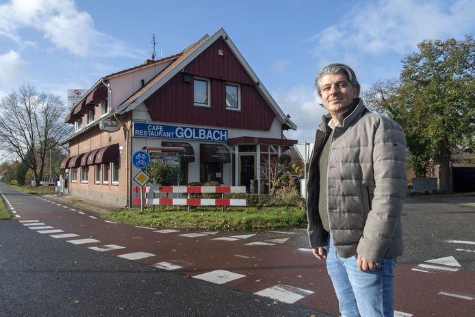 Bülent Baki is de nieuwe eigenaar van het pand waar tot vorig jaar café-restaurant Golbach was gevestigd.