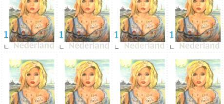 PostNL keurt te pikante postzegel af: 'Zo schokkend bloot is het ook weer niet'