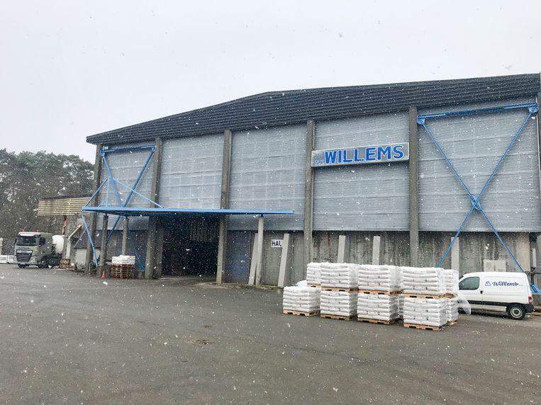 In het depot van Willems in Vorselaar staat tot 50.000 ton strooizout.