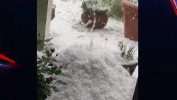 Gigantische hagelbui in Fort Collins