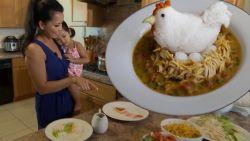 Mama tovert voedselkunst op bord om moeilijke eter toch maar te laten eten