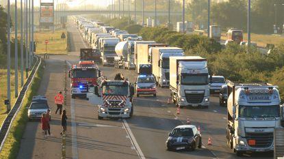 Zware ochtendspits op E17 na reeks ongevallen