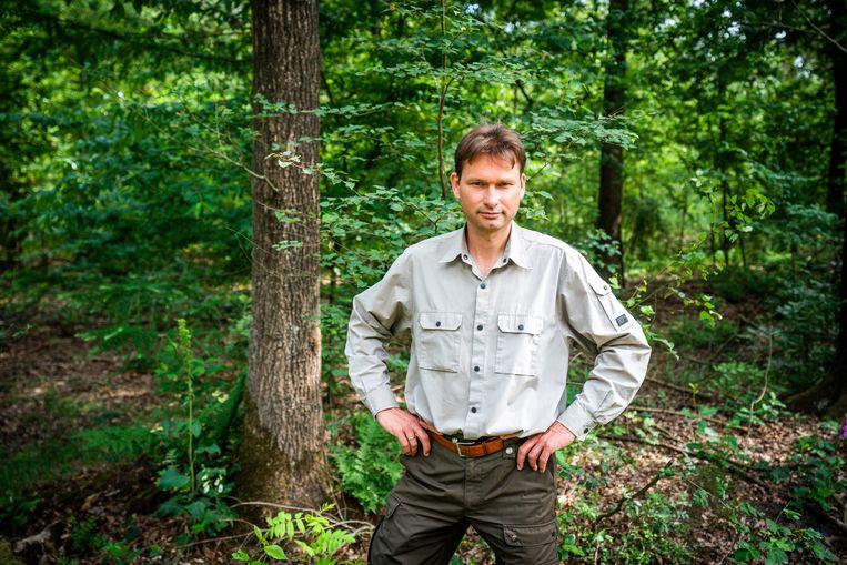Bioloog Arnold van Vliet van de Wageningen Universiteit en een van de drijvende krachten achter NatureToday.nl. Beeld ANP