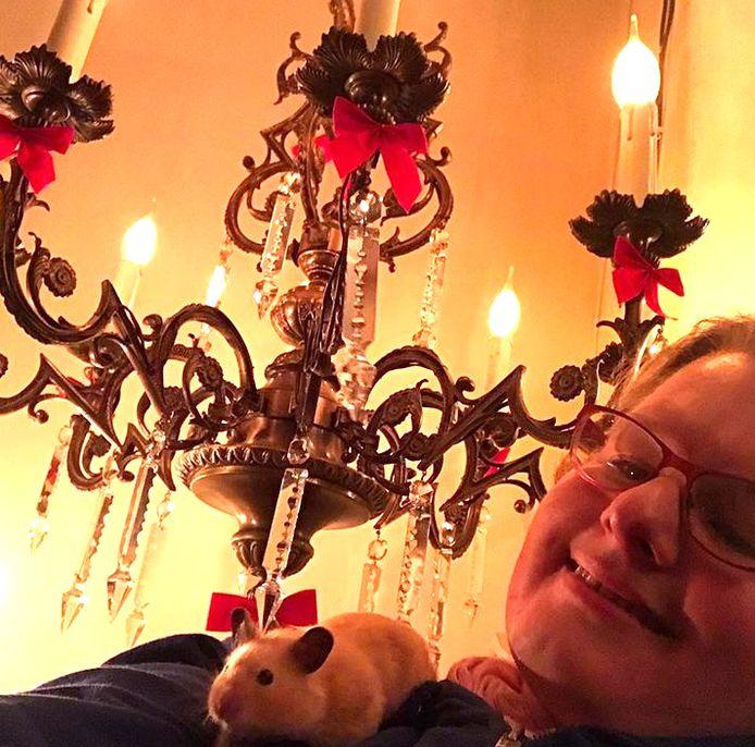 Amanda Liberty met haar grote liefde.