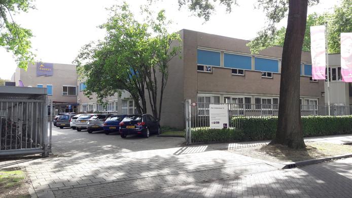 De Fontys Hogeschool Journalistiek (FHJ) in Tilburg.