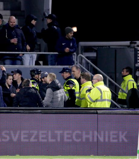 Helmond Sport distantieert zich van ruziezoekende supporters: 'Wij gaan hier hard tegen optreden'