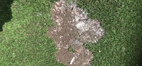 Politie deelt boetes uit voor vernielen kunstgras bij FC Driebergen