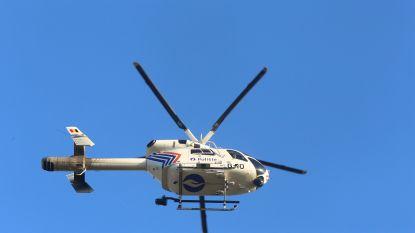 Politiehelikopter ingezet bij massale zoekactie naar illegale vluchtelingen in Ham